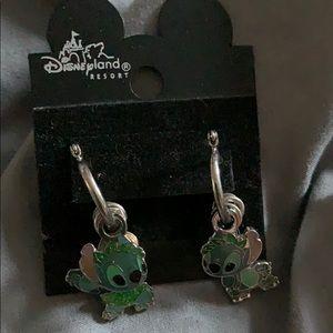 Disney Stitch earrings.